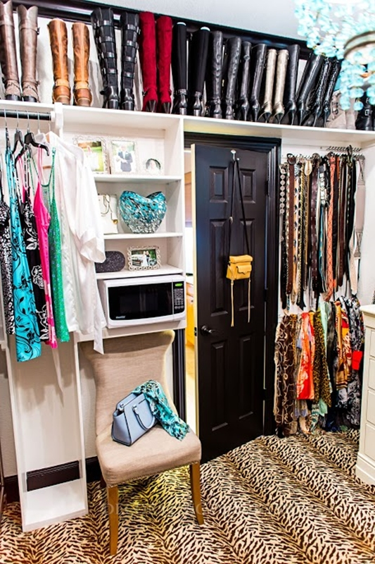Create that master closet you've always wanted.