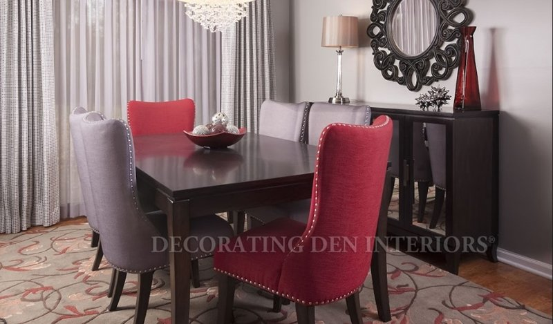 Don't go overboard with a large dining room table if you're only feeding a few guests.