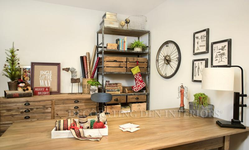 Use a customized shelving unit to store your belongings.
