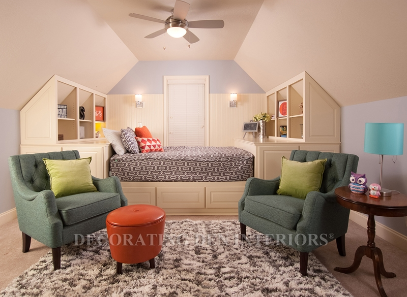 A neutral color theme can last years in your kid's room.