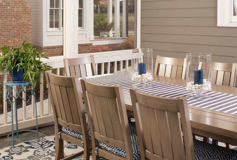 How will you arrange your patio furniture this year?
