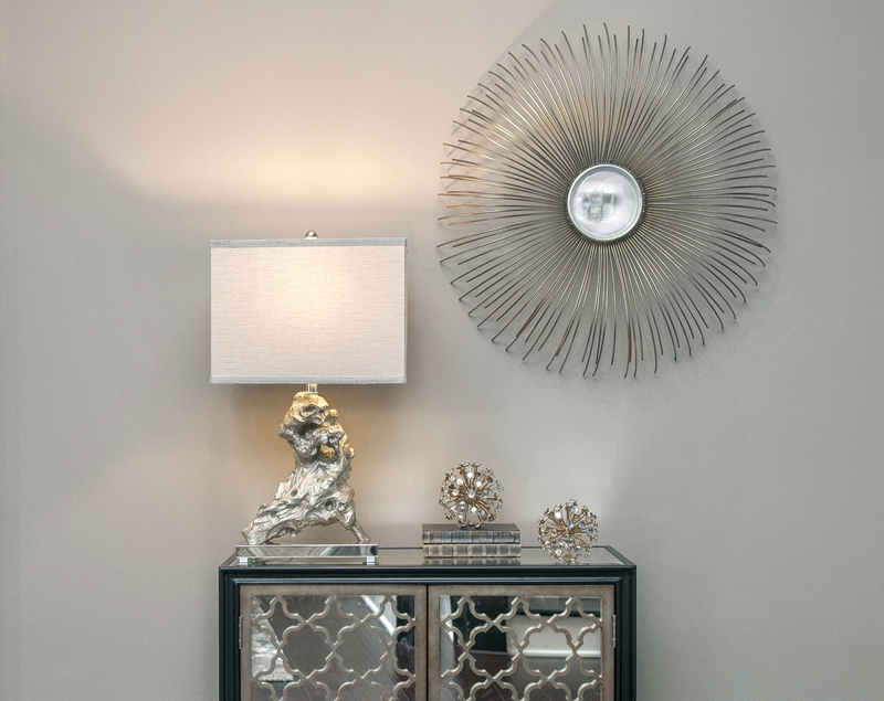 Accent lighting can set the perfect tone in your room.